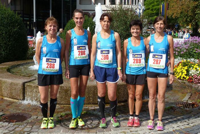 v.l.: Annika Karfs-Fiedler, Claudia Göbel, Christina Dintelmann, Conny Wagener und Yvonne Heck