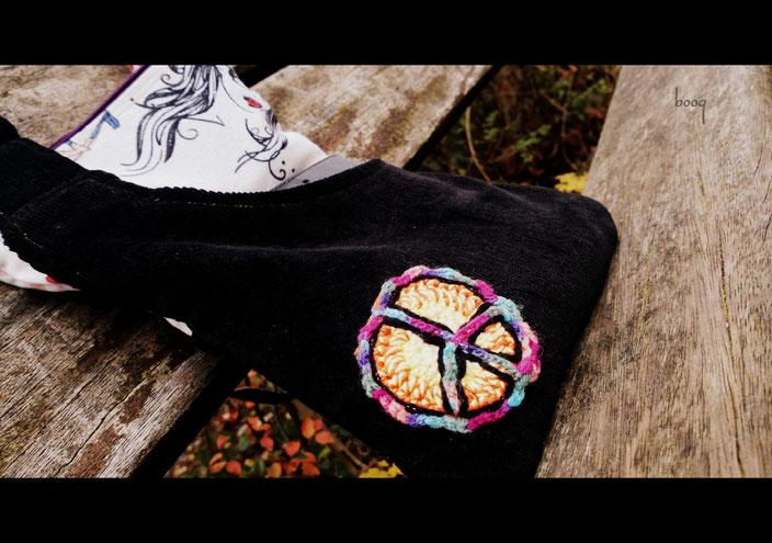 hippie tasche nähen boho bag sewing kord tarisznya