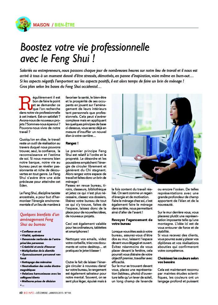 Booster sa carrière avec Equilibre Naturel - Home Organisng & Aménagement Feng Shui