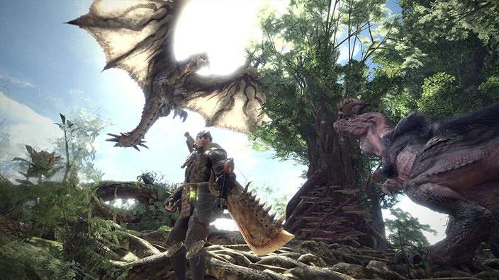 PC-Spiele mit guter Grafik - Monster Hunter: World