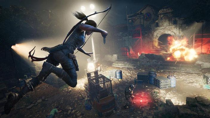 PC-Spiele mit guter Grafik - Shadow of the Tomb Raider
