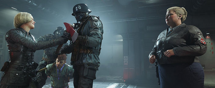 Beste Shooter Spiele - Wolfenstein 2: The New Colossus