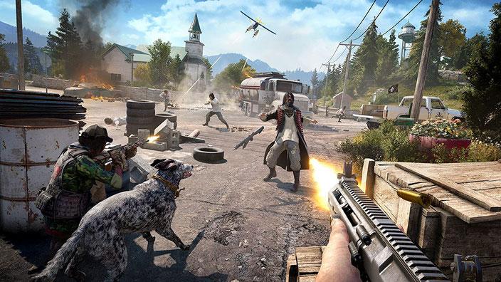PC-Spiele mit guter Grafik - Far Cry 5