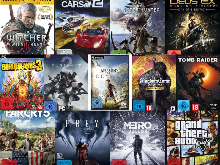 PC-Spiele mit guter Grafik
