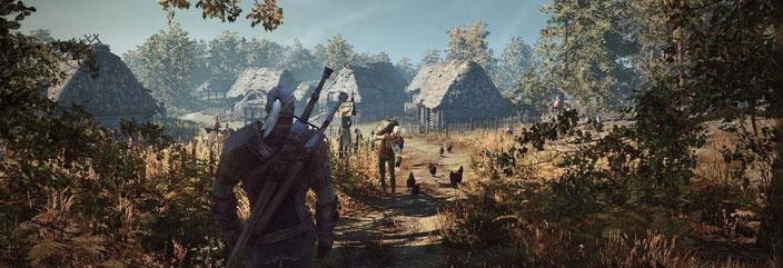 PC-Spiele mit guter Grafik - The Witcher 3: Wild Hunt