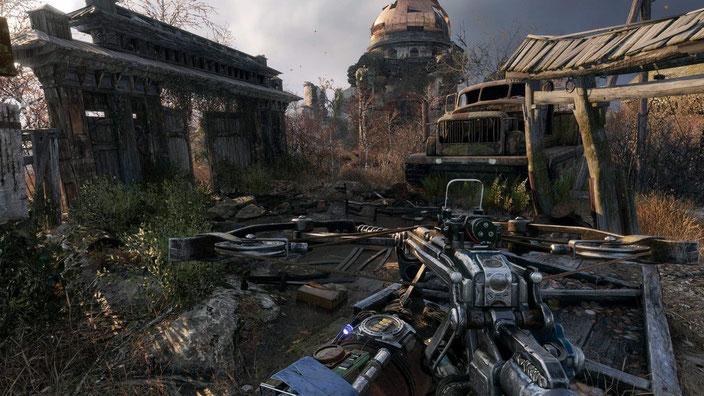 PC-Spiele mit guter Grafik - Metro Exodus