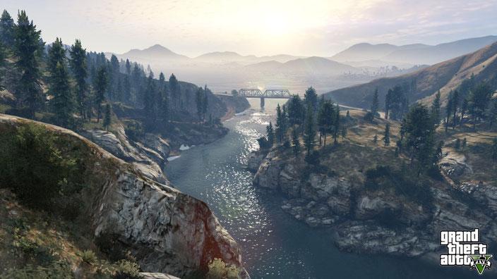 PC-Spiele mit guter Grafik - Grand Theft Auto 5