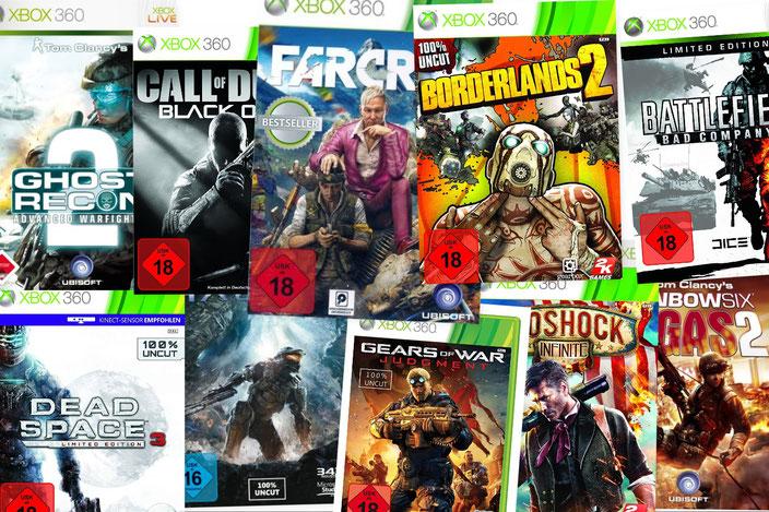 Shooter Xbox 360 Übersicht