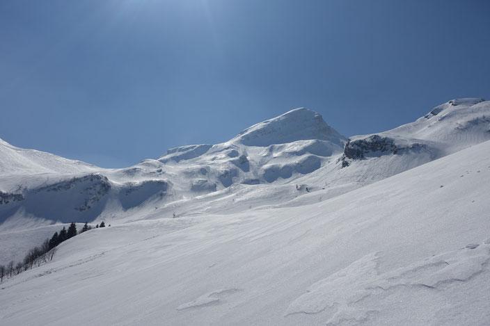 Skitour, Schweiz, Alvier, Rheintal, Nordabfahrt