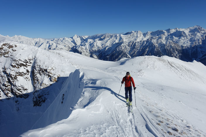 Skitour, Tessin, Punta di Stou, Molare, Faido, Leventina, Pizzo Baretta, Alpe Stou