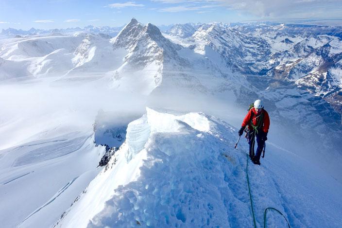 Mönch, Nordwand, Nollen, Northface, Guggihütte, Eigergletscher, kleine Scheidegg, Jungfraujoch