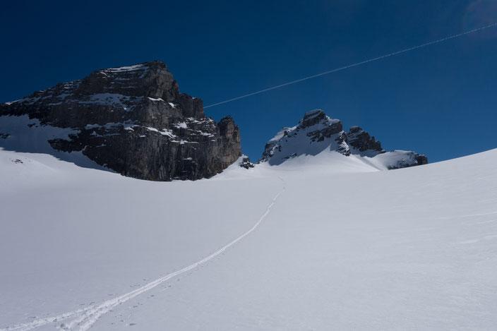 Skitour, Uri, Isenthal, Schlossstocklücke, Engelberger Rotstock, Rundtour, St. Jakob, Schweiz