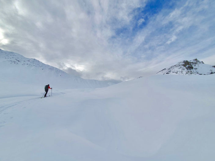 Skitour, Arosa, Schiesshorn, Graubünden, Furggahorn, Furggatobel, Obersäss