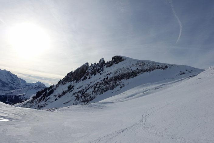 Skitour, Burg, Bussalp, Grindelwald, Berner Oberland, BEO, Eiger, Mönch, Jungfrau, Burglauenen