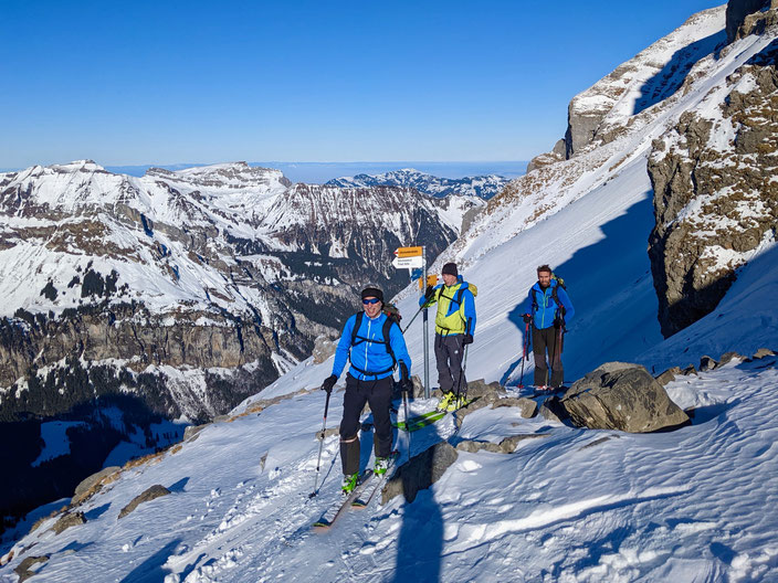 Skitour, Uri Rotstock, Schweiz, Uri, Isenthal, St. Jakob, Uri Rotstock, Brunnistock, Ruchstock, Lauberz, Gitschenhörelihütte, Altdorf, Bösenboden, Firnbäch