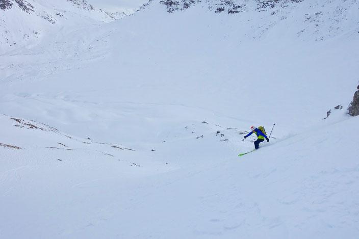Skitour, Arosa, Schiesshorn, Graubünden, Furggahorn, Furggatobel, Obersäss, Valbellahorn, Sandhubel