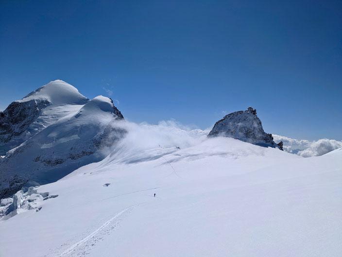 Oberaletschhütte, Lötschentaler Breithorn, Skitour, Skihochtour, Nesthorn, Gredetschjoch, Gredetschhorli, Lötschental, Wallis, Berner Oberland, BEO, Beichpass, Beichgletscher