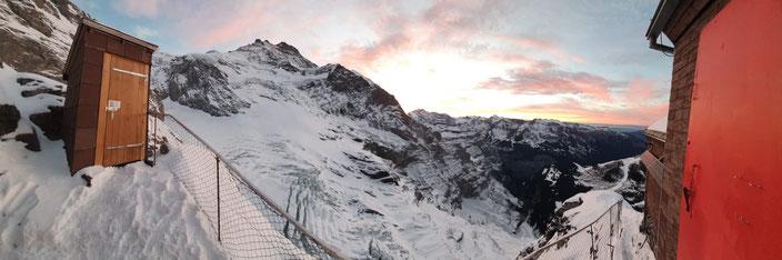Mönch, Nordwand, Nollen, Northface, Guggihütte, Eigergletscher, kleine Scheidegg, Jungfrau