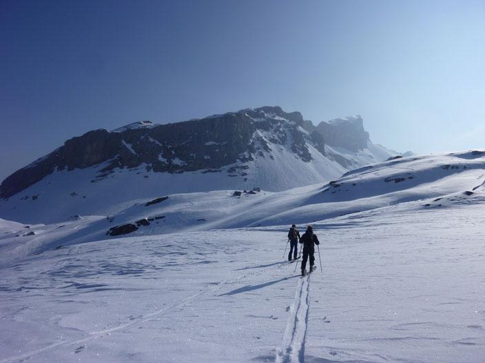 Skitour, Chaiserstock, Lidernen, Nordostabfahrt