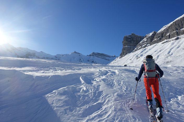 Mieserenstock, Skitour, Höch Hund, Chläbdächer, Studen, Schwyz, Schweiz, Touren Zentralschweiz