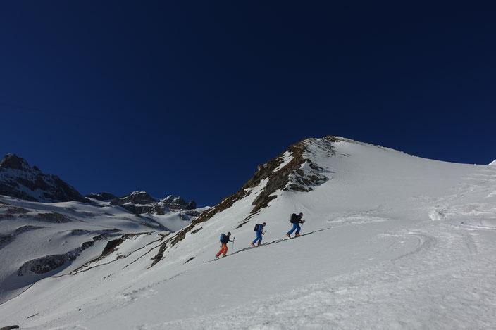 Skitour, Uri, Isenthal, Oberalp, Engelberger Rotstock, Ruchstock, Hasenstöck, Rundtour, St. Jakob, Schweiz