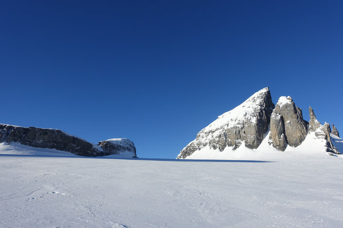 Skitour, Chli Spannort, Gross Spannort, Krönten, Kröntenhütte, Glatt Firn