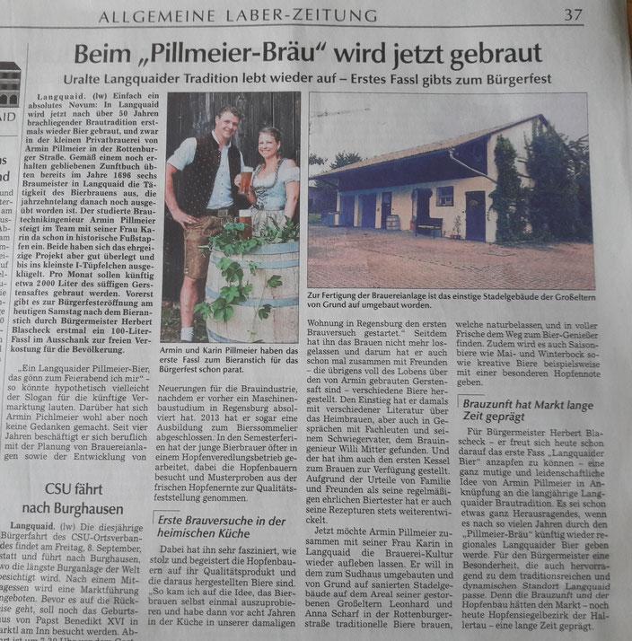 Laber-Zeitung vom 01.07.2017