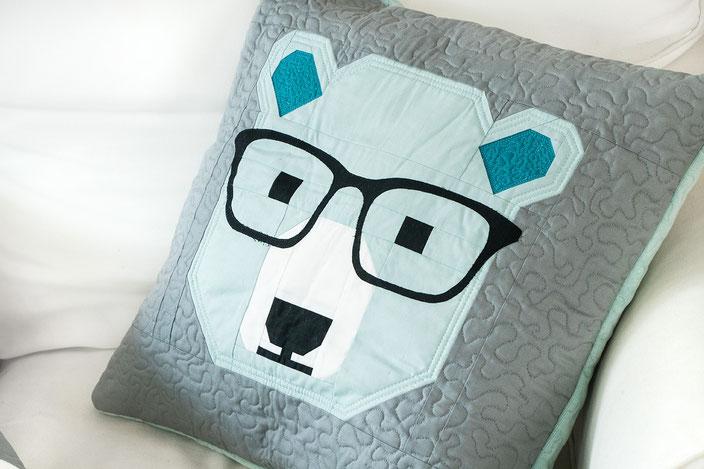Bjorn Bear Quilt Pillow