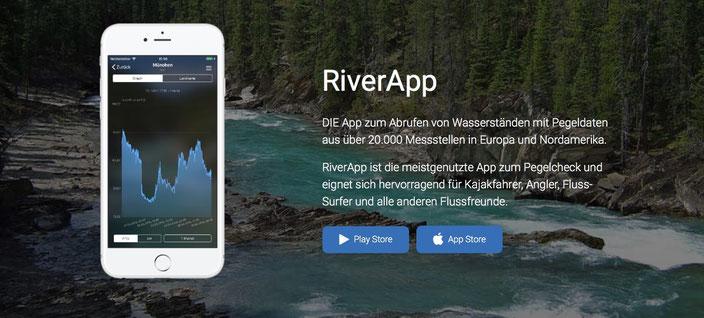 River App - Pegelstände mobil