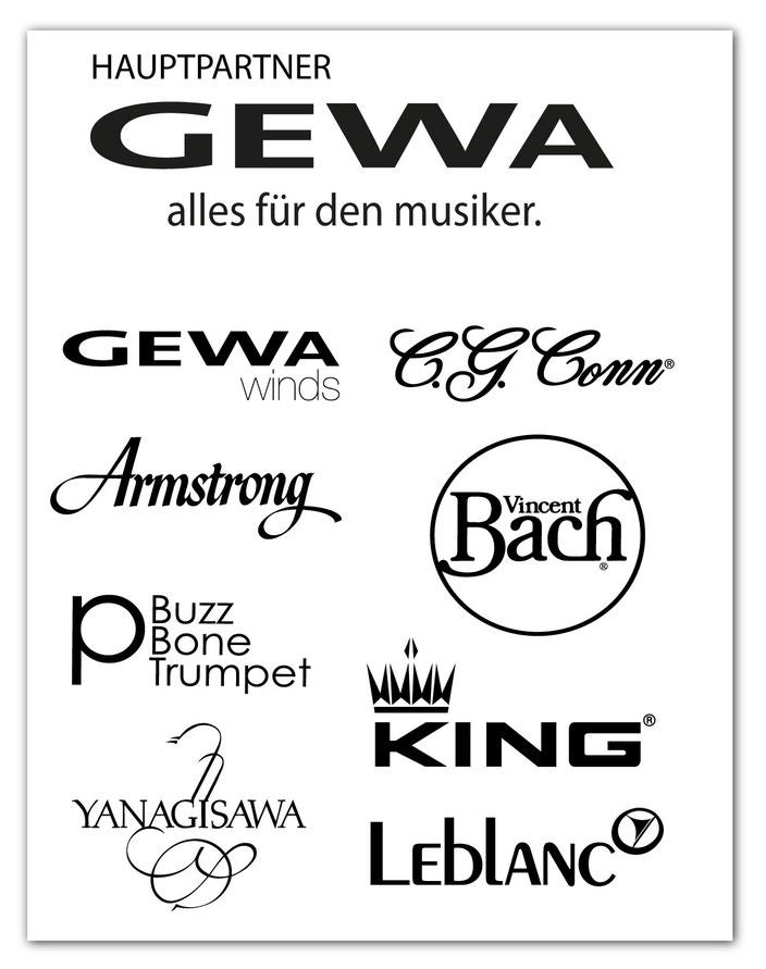 GEWA MUSIC auf dem MUSIKPROB Brass-Festival