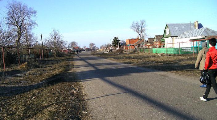 Улица Захарова — центральная улица села