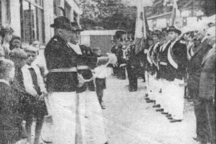 1963 - Einweihung der Schützenhalle