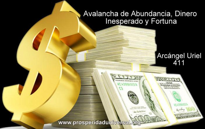 AVALANCHA DE ABUNDANCIA - DINERO INESPERADO Y FORTUNA - ARCÁNGEL URIEL - 411 - PROSPERIDAD UNIVERSAL - MEDITACIÓN SUBLIMINAL - www.prosperidaduniversal.org