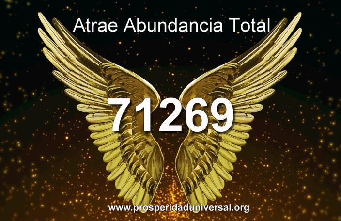 ATRAE ABUNDANCIA TOTAL- ENERGÍA DEL DINERO- ÁNGEL DE LA ABUNDANCIA - CÓDIGO SAGRADO 71269 - PROSPERIDAD UNIVERSAL - www.prosperidaduniversal.org