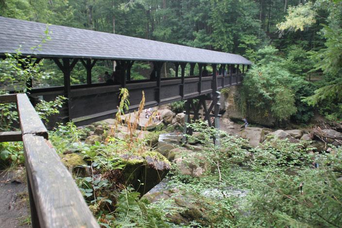 Holzbrücke Irreler Wasserfälle