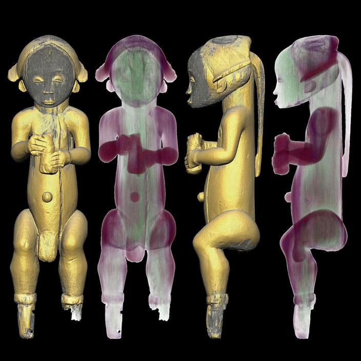 ©Scantix Dr. Marc Ghysels - Wallpaper: Guardian of a Fang reliquary
