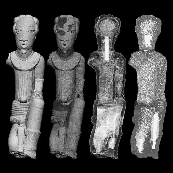 Pastiche of a Nok terracotta • 200 BC — 200 AD • Nigeria