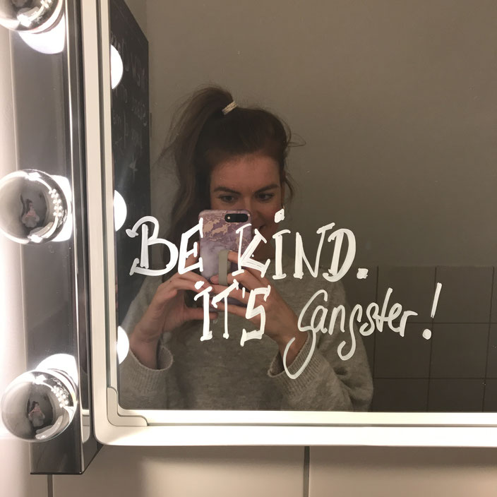 Be kind, it's Gangster!