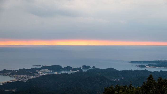 妙法山 熊野灘の眺望