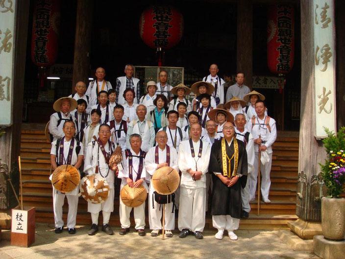 紀三井寺で全員集合