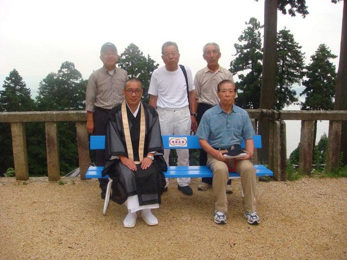 第31番長命寺  琵琶湖を望む眺望第一のポイント