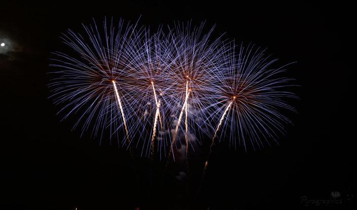 Feuerwerk Hochfeuerwerk Volksfest Neumarkt
