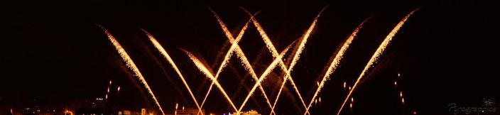 Feuerwerk Single Shots, Musikfeuerwerk