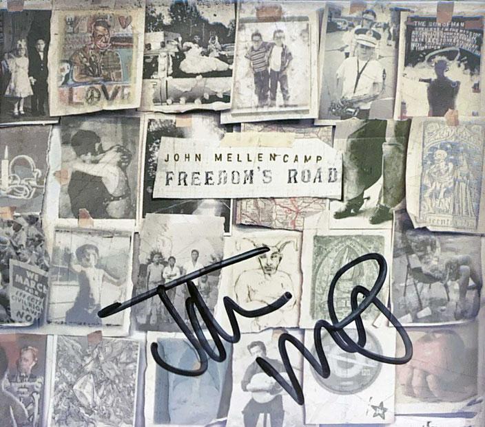 Autograph John Cougar Mellencamp