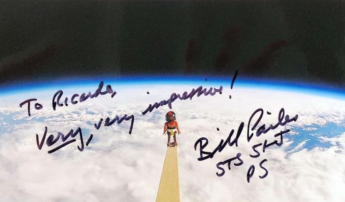 Autograph Bill Pailes Autogramm