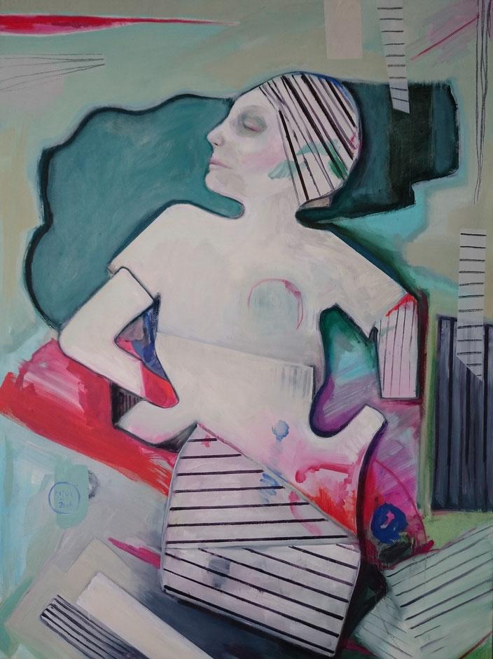 oilpainting cm doos vouw vrouw vouwvrouw dozen olieverf schilderij man handen claireobscure bouwvakker pak mooi groot goed vakmanschap schilderkunst
