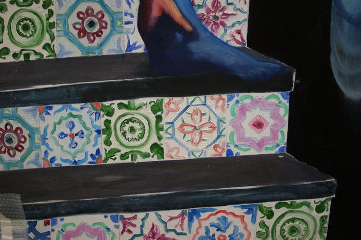 mooi groot goed vakmanschap tiles tegels trechters jojo schilderkunst rots vrachtwagen truck golf golfer yoga kaarsstand building boxes