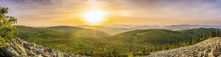Landschaft, Sonnenaufgang