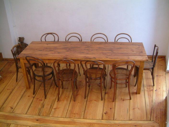Tisch & Stuhl - schon immer dabei - kienastroomservices Webseite!