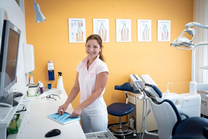 Zahnarzt-Assistentin in Ausbildung Jitka Koubova